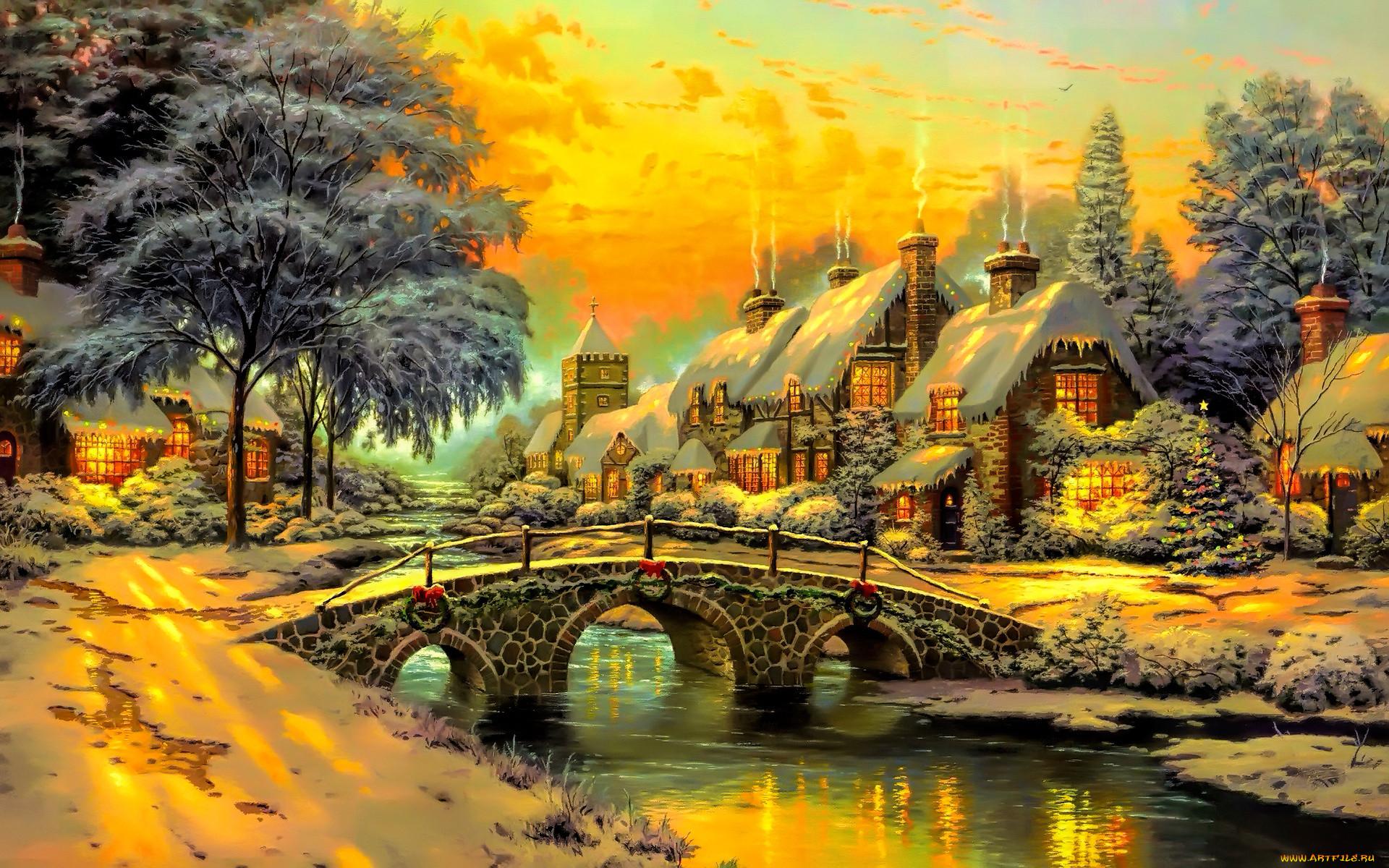картинка сказочного зимнего домика это очень важно